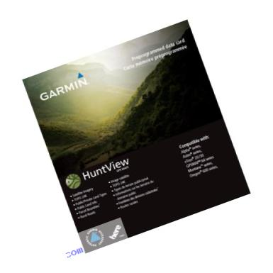Garmin Huntview Map Card - Wisconsin