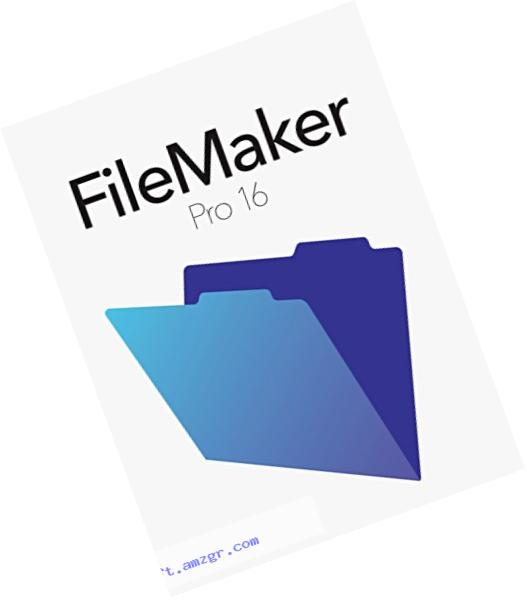 FileMaker Pro 16 Education Mac/Win Retail Box V16
