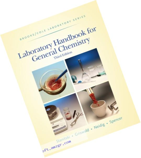 Laboratory Handbook for General Chemistry (with Student Resource Center Printed Access Card) (Brooks / Cole Laboratory Series)