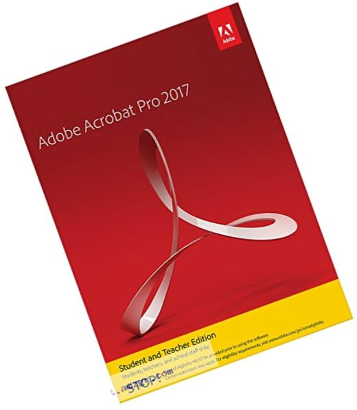Adobe Acrobat Pro 2017 Student and Teacher Edition Windows