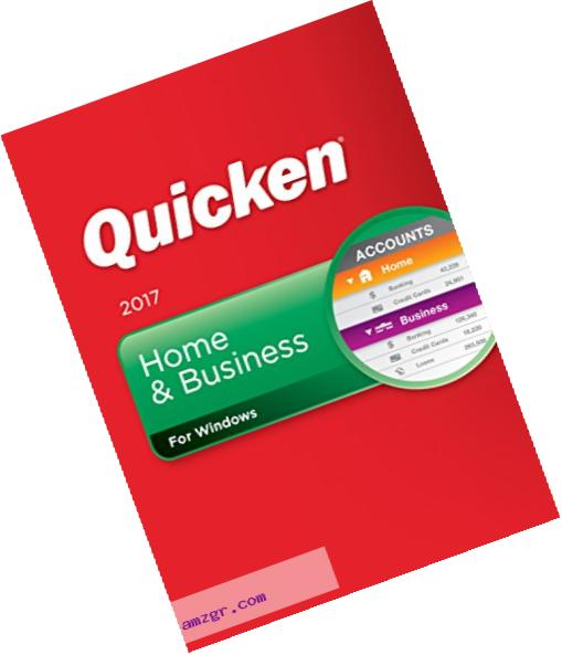 Quicken Home & Business 2017 for Windows Personal Finance & Budgeting Software