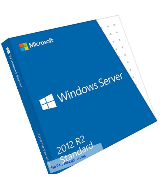 Microsoft Windows Server Standard 2012 R2 64 Bit English DVD 5 Clt