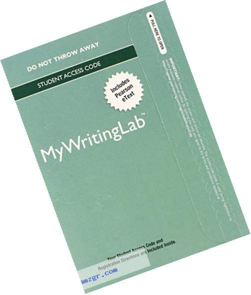 MyWritingLab with Pearson eText -- Standalone Access Card