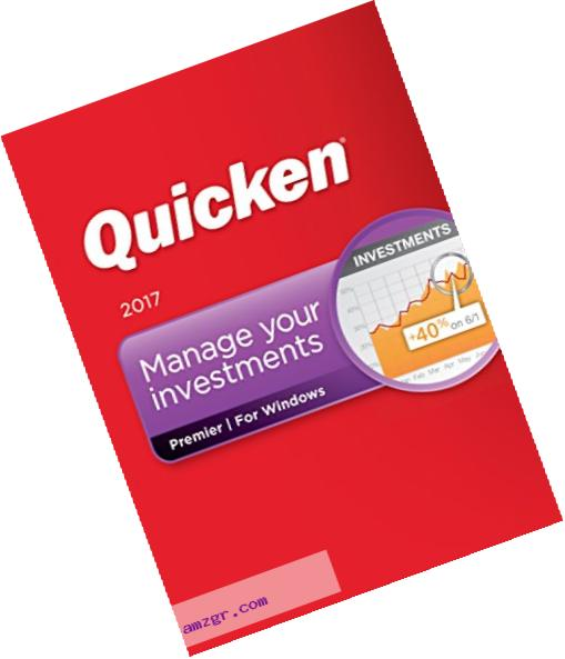 Quicken Premier 2017 Personal Finance & Budgeting Software