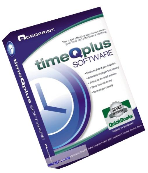 Acroprint timeQplus Software - Single Location Time and Attendance Software Time Clock