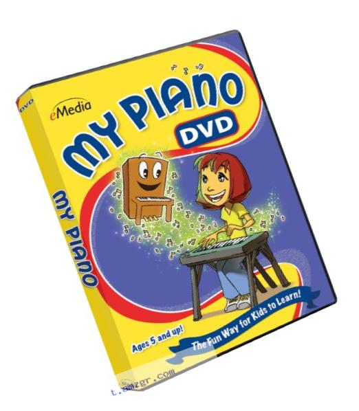 eMedia My Piano DVD - video