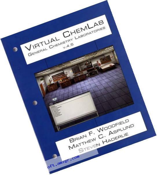 Virtual ChemLab: General Chemistry Student Workbook + Access Code v. 4.5