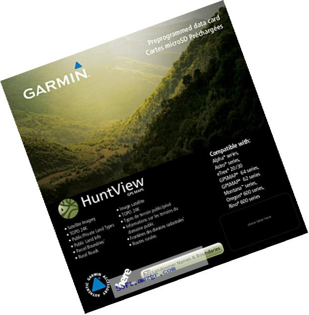 Garmin 010-12606-00 Huntview Map Card - Georgia
